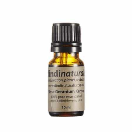 Dindi Naturals Essential Oil 10ml - Rose Geranium - Biome